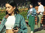 Vanessa Hudgens and Austin Butler enjoy a lunch date in LA