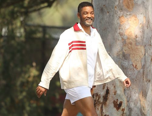 Will Smith gets back into swing of things as filming resumes for King Richard biopic