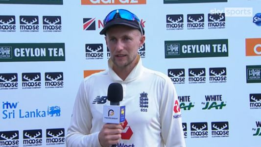 Joe Root delighted with double century as England edge closer to victory in first Sri Lanka Test