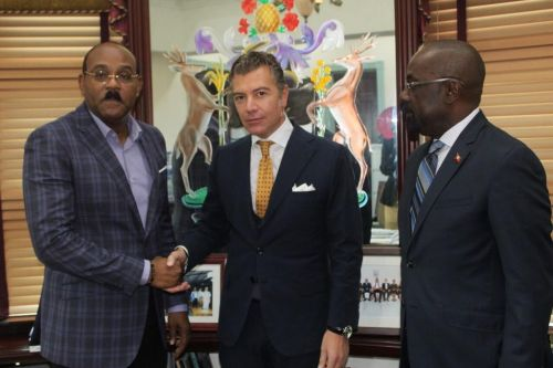 Dario Item, Ambassador for Antigua and Barbuda, Sees a Bright Future Ahead for its Tourism Sector