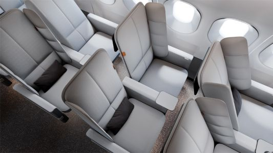 New folding airline seat design unveiled by UK firm