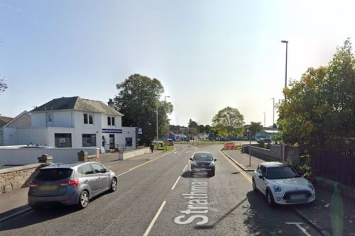 Motorcyclist freed from under car by fire crews after horror Dundee crash