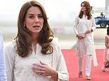 Kate Middleton dons £19 shalwar kameez by Pakistan high street fashion label