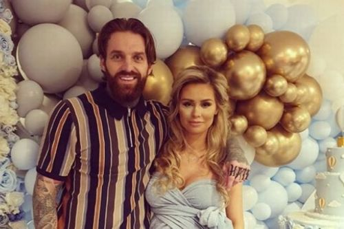 Aaron Chalmers 'splits' from girlfriend Talia four months after welcoming baby