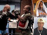 Mike Tyson's training partner says he has been knocking out TEETH in training for Roy Jones Jr