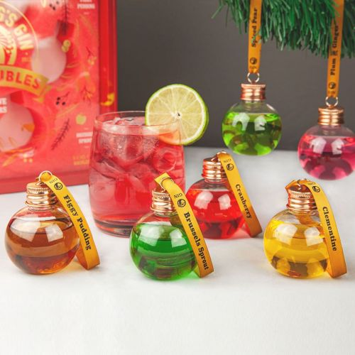 The best boozy Christmas decorations - from rum baubles to gin crackers