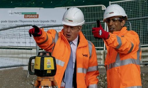 Rishi Sunak to invest £7billion into Britain's transport network as part of 'levelling up'