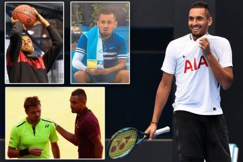 Nick Kyrgios, his princess mother, net worth, ranking, girlfriend and controversial moments - from 'tanking' to sex slurs