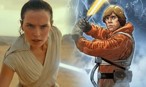 Star Wars The Rise of Skywalker: Rey mystery SOLVED in never-before-seen pic?