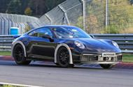 High-riding Porsche 911 prototype hints at rally-inspired variant