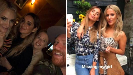 Louise Redknapp and Keith Lemon remember last night out with Caroline Flack in heartfelt tribute