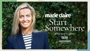 Introducing our new podcast: Start Somewhere with Sara Vaughan