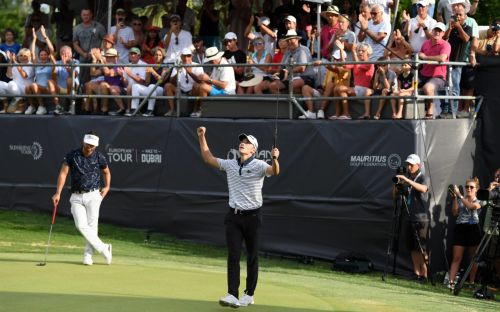 18-year-old Rasmus Hojgaard's Mauritius Open victory makes him third youngest ever to win on European Tour