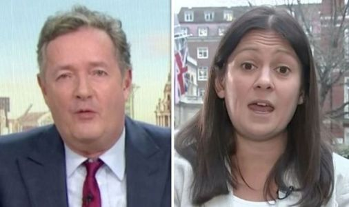 'Have I misunderstood?' Piers Morgan silenced by Lisa Nandy as he goes on Meghan rant