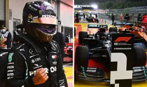 Lewis Hamilton fires warning after crushing F1 rivals in wet Styrian Grand Prix qualifying