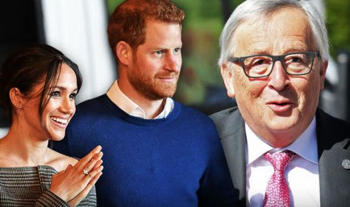 Meghan Markle and Prince Harry sent EU's best wishes - but Juncker might not be watching
