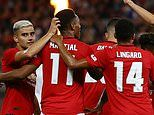 Manchester United news: Manchester United 4-0 Leeds: Reds easily see off their old rivals in Perth