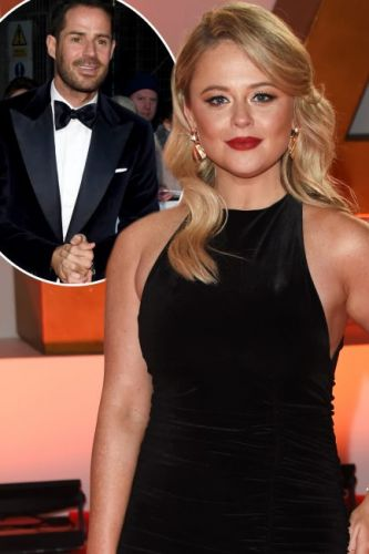 NTAs 2019: Emily Atack teases Jamie Redknapp romance on National Television Awards red carpet - EXCLUSIVE