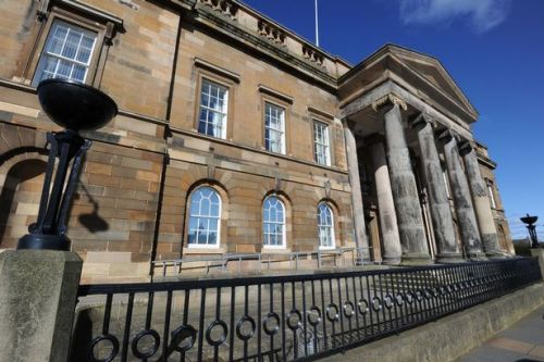 Boozed-up Ayr party girl glasses best pal in mishap attack