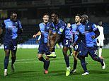 CHAMPIONSHIP ROUND-UP: Wycombe earn first Championship point in thrilling Watford draw