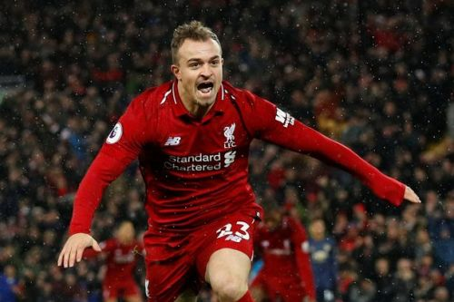 Liverpool 3-1 Man Utd ratings as Xherdan Shaqiri nets two - but isn't man of the match