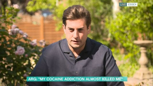 James Argent's 'hero' Davina McCall says she has 'so much respect' for him opening up about cocaine addiction