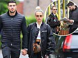 Molly-Mae Hague and boyfriend Tommy Fury look romantic as ever while heading out to a cafe for lunch