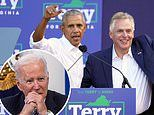 Biden will campaign for Terry McAuliffe in Virginia today