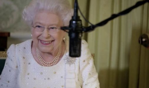 The Queen bursts into giggles as BIRD ruins Christmas speech - REVEALED in new documentary