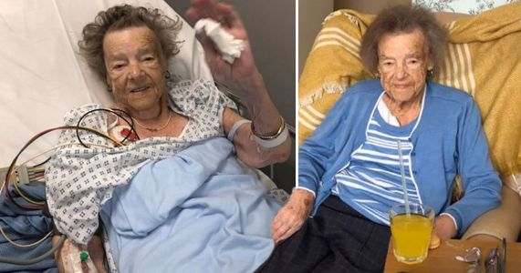 Pensioner, 93, died from broken heart after burglars stole late husband's watch
