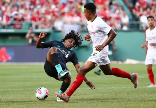 Sevilla's Joris Gnagnon apologises for 'heinous' tackle on Liverpool's Yassser Larouci