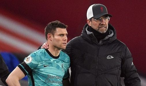 Jurgen Klopp wanted 'physical fight' with James Milner in Liverpool training ground scrap
