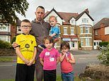 Family of SEVEN are forced to live in single hotel room 11 miles from their old two-bed flat