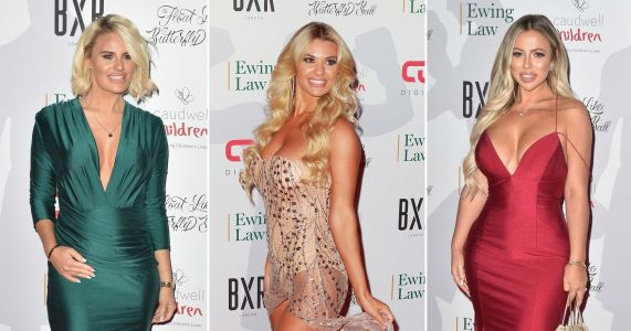 Christine McGuinness and Danielle Armstrong go glam and nail it for Float like a Butterfly Ball