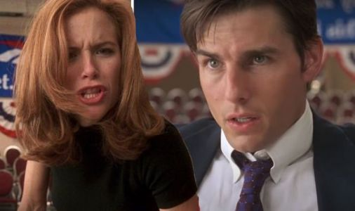Kelly Preston PUNCHES Tom Cruise in iconic Jerry Maguire scene - WATCH