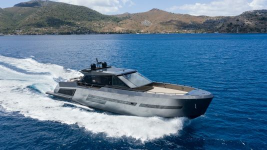 This custom yacht comes with bulletproof windows and an interior swanky enough to warrant them - take a closer look