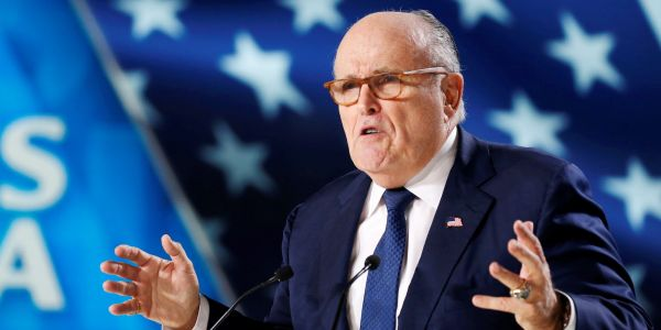 Giuliani says 'There's nothing wrong with taking information from Russians,' referencing Trump Tower meeting