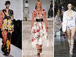 Blooming beautiful! Fabulous florals are BIG this season