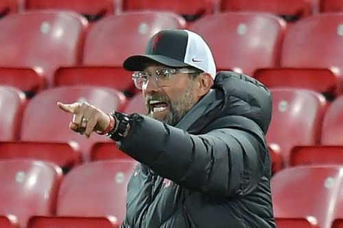 Liverpool fans heard what furious Klopp shouted at players after going 2-0 down