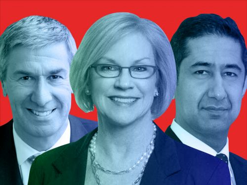 Meet the 7 people reporting to Bank of America's top tech exec Cathy Bessant who help oversee a $14 billion annual budget and 95,000 employees