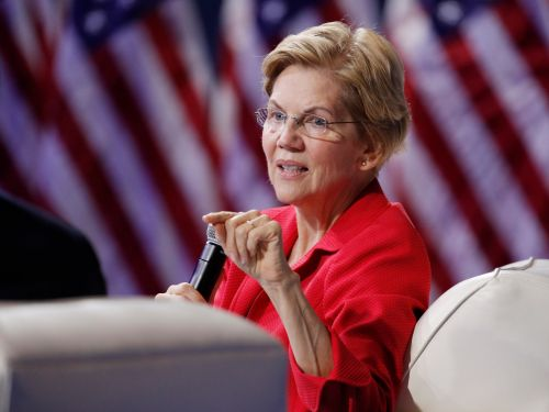 Elizabeth Warren says she won't accept major donations from tech executives after vowing to break up big tech companies like Facebook, Google, and Amazon