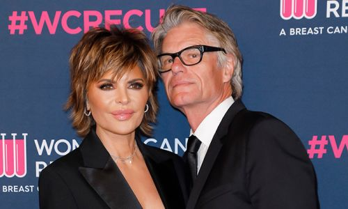 Lisa Rinna's husband Harry Hamlin steals the show as she displays killer dance moves