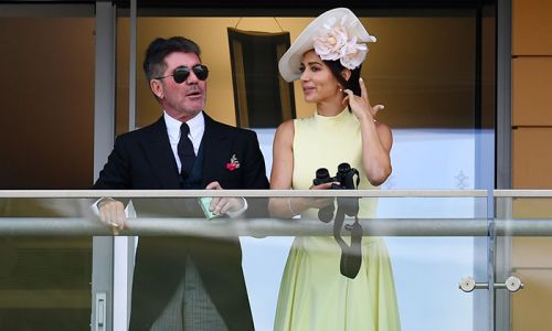 Simon Cowell and Lauren Silverman are couple goals during stylish day out at Royal Ascot