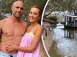 Bec Judd shares photos from her family getaway on$8,000 a week Murray River houseboat with family