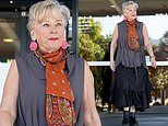 Celebrity chef Maggie Beer arrives to front the Royal Commission into Aged Care Quality and Safety