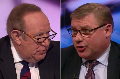 Mark Francois compares Labour to fall of Berlin Wall - and Andrew Neil loses his mind