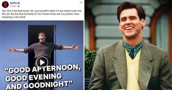People are fuming as Netflix autoplays ending of The Truman Show on social media