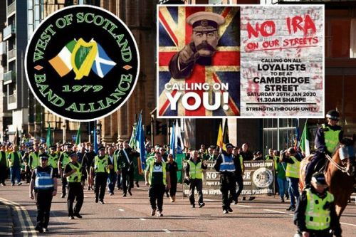 Loyalist group to protest Republican Bloody Sunday memorial march in Glasgow