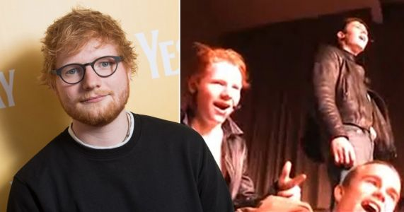 Ed Sheeran DVD of singer showing off star quality in Grease school play to be auctioned