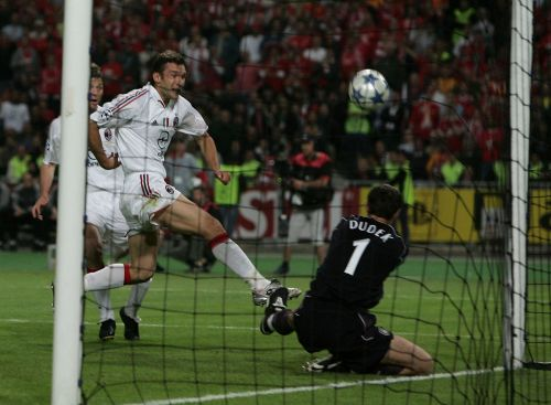 What Andriy Shevchenko told Jerzy Dudek after *that* save in the Champions League final